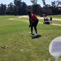Golf - First a sneaker, now a club. Zion Williamson's golf swing is a bit too strong