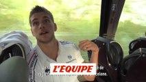 Les Bleus commentent le but de Neymar - Volley - Bleus