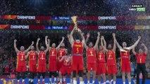 Coupe Du Monde FIBA 2019 - Finale Argentine / Espagne : L'hymne et la remise du trophée !