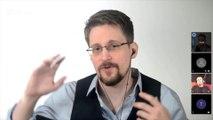 """Edward Snowden : """"Nous ne sommes plus des partenaires de nos gouvernements, mais leurs sujets"""""""