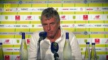FC Nantes - Stade de Reims : la réaction des entraîneurs