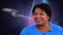 Stacey Abrams Nerds Out About Star Trek