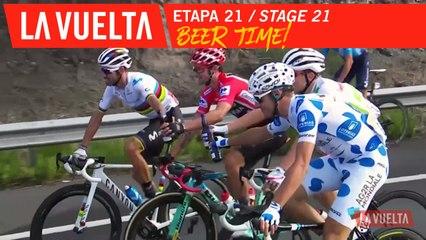 L'heure de la bière / Beer Time - Étape 21 / Stage 21 | La Vuelta 19