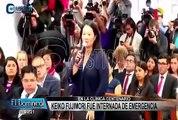 Keiko Fujimori fue internada en clínica Centenario de emergencia