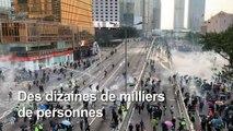 Hong Kong: nouvelles scènes de violence