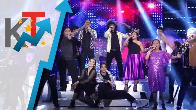 TNT Finalists, nagpakitang gilas sa opening performance sa It's Showtime