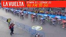 Encore 40 Km / 40 km to go - Étape 21 / Stage 21 | La Vuelta 19
