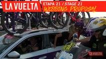 Demande en mariage / Wedding proposal - Étape 21 / Stage 21 | La Vuelta 19