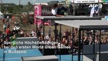Erste Weltmeisterschaften urbaner Sportarten in Budapest