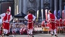 Fêtes de Wallonie : Christophe Corbiaux remporte sa 8e Echasse d'or