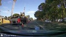 Ce papy tente une arnaque à l'assurance en traversant la route !