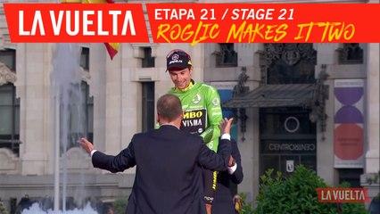 Roglic voit double / Roglic makes it two - Étape 21 / Stage 21 | La Vuelta 19