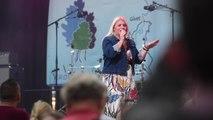 Sandra Kim en concert aux fêtes de Wallonie à Namur