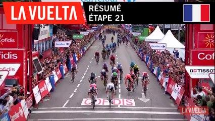 Résumé - Étape 21 | La Vuelta 19