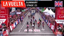 Summary - Stage 21 | La Vuelta 19