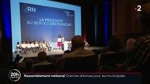 """Municipales : pour Marine Le Pen, """"les fusions de listes sont parfaitement possibles au second tour"""""""