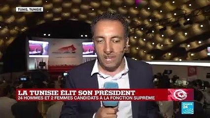 """Présidentielle en TUNISIE : """"Kais Saïed se proclame en tête devant Nabil Karoui"""""""