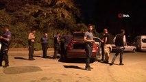Polisten kaçtı, park halindeki araca çarpıp yakalandı