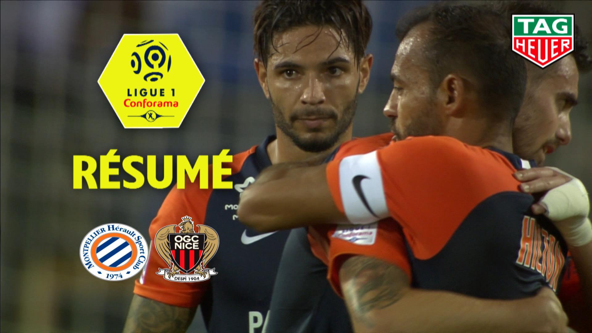 Montpellier Hérault SC - OGC Nice (2-1)  - Résumé - (MHSC-OGCN) / 2019-20