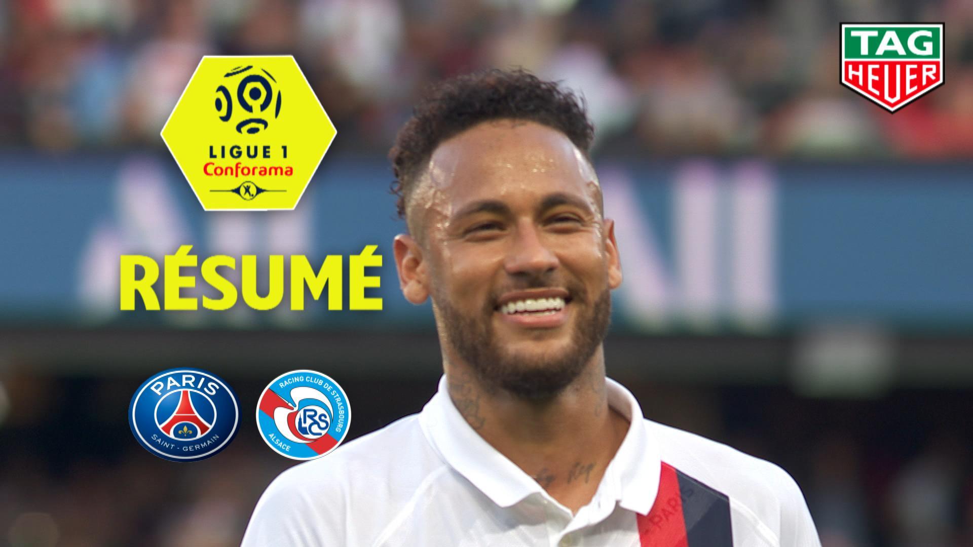 Paris Saint-Germain - RC Strasbourg Alsace (1-0)  - Résumé - (PARIS-RCSA) / 2019-20