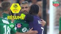 AS Saint-Etienne - Toulouse FC (2-2)  - Résumé - (ASSE-TFC) / 2019-20
