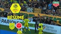 FC Nantes - Stade de Reims (1-0)  - Résumé - (FCN-REIMS) / 2019-20