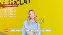 Kate Hudson Gives Kid Update