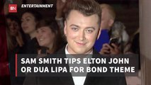 Sam Smith Wants Elton John Involved In James Bond Movies