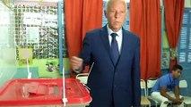 Présidentielle en Tunisie : vers un second tour Kaïs Saïed - Nabil Karoui