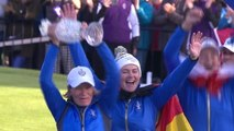 Solheim Cup: Day 3 - Europe claim trophy with final putt