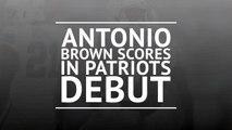 Breaking News - Brown scores in Patriots debut