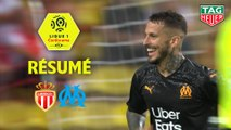 AS Monaco - Olympique de Marseille (3-4)  - Résumé - (ASM-OM) / 2019-20
