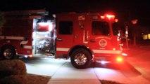 Perfect Planning Helps Firefighters Battle Blaze