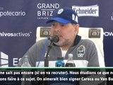 """Gimnasia - Maradona : """"On aimerait recruter Van Basten, mais..."""""""