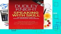 Review  Speaking With Skill: A Skills Based Approach to Speech Training (Performance Books) -