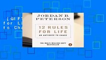 [GIFT IDEAS] 12 Rules for Life: An Antidote to Chaos