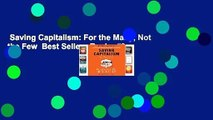 Saving Capitalism: For the Many, Not the Few  Best Sellers Rank : #3