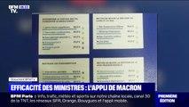 Quand Emmanuel Macron évalue l'action de ses ministres via une application sur son smartphone