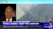 """Donald Trump se dit """"prêt à riposter"""" aux attaques de drones contre le pétrole saoudien"""