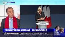 """ÉDITO - En campagne pour les municipales, """"Marine Le Pen s'inscrit aussi dans la perspective de 2022"""""""