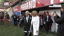"""""""Brigitte Macron, l'influente"""": ce moment où Brigitte Macron a été sifflée lors d'un match caritatif au Stade de Reims"""