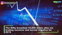 Sensex falls 642 pts, Nifty ends below 10,820; here are 5 factors that weighed on Dalal Street