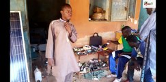 Réparateur de téléphones portables au Burkina  Un métier qui ne connait pas la crise