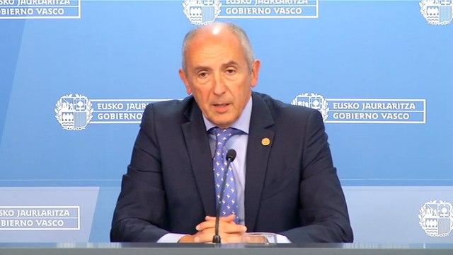 Gobierno Vasco, preocupado por la conformación del Gobierno central