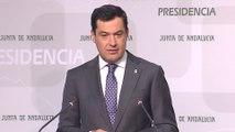 Moreno cree que Pedro Sánchez quiere ir a elecciones