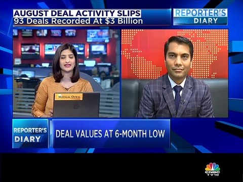 M&A activity is witnessing a slowdown on domestic as well as cross border side, says Grant Thornton's Pankaj Chopda