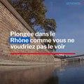 Plongée dans les eaux polluées du Rhône