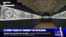 87 mètres de tapisserie qui résument les 90h de Game of Thrones sont exposés à Bayeux jusqu'à la fin de l'année