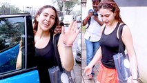 Sara Ali Khan SPOTTED After Dance Rehearsal