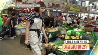 [LIVING] Spike in agricultural prices after the typhoon,생방송 오늘 아침 20190916